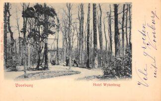 Ansichtkaart Voorburg Hotel Wykerbrug 1900 's-Gravenhage HC22544