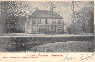 Ansichtkaart Paterswolde 't Huis Noordwijk 1906 Tynaarlo HC22552