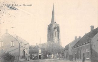 Ansichtkaart Moergestel Inzicht Kerkstraat 1919 Oisterwijk HC22555