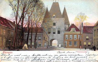 Ansichtkaart Kampen Korenmarkt 1905 HC22561