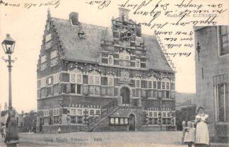 Ansichtkaart Klundert Stadhuis 1904 Nauta 2489 Moerdijk HC22590