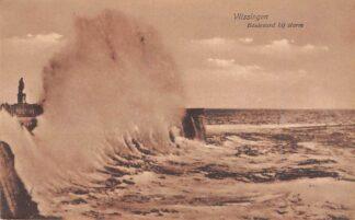 Ansichtkaart Vlissingen Boulevard bij storm 1919 HC22601