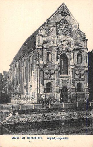 Ansichtkaart Maastricht Augustijnengebouw 1908 HC22617