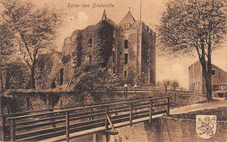 Ansichtkaart Santpoort bij Haarlem Ruïne van Brederode 1910 HC22648