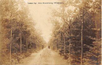 Ansichtkaart Wierden Laan bij den Euterweg Fotokaart Almelo Twente HC22651