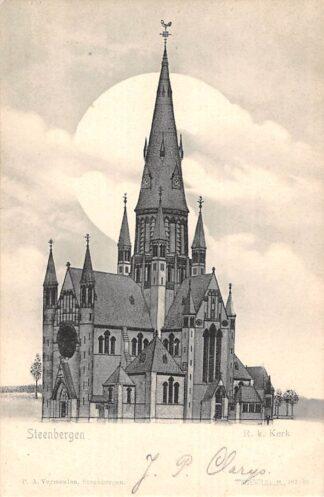Ansichtkaart Steenbergen R.K. Kerk 1900 HC22656