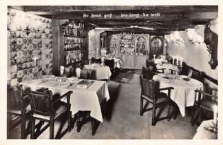 Ansichtkaart Amsterdam Prinsengracht 438 Oud-Hollandsch restaurant de Prinsenkelder Dikker & Thijs 1952 HC22719