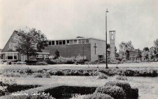 Ansichtkaart Appelscha Gereformeerde Kerk 1962 HC22721
