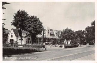 Ansichtkaart Paterswolde Hotel Neptunus 1950 HC22725