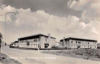 Ansichtkaart Zoetermeer Karel Doormanlaan Van Brakelstraat 1961 HC22735