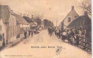Ansichtkaart Rijswijk (GD) Gemeente Maurik Dorp 1904 Buren BetuweHC22778
