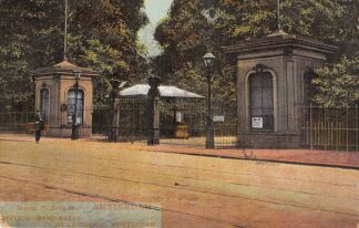 Ansichtkaart Amsterdam Ingang N. Artis M. 1906 Zoo Dierentuin HC22800