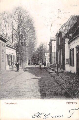 Ansichtkaart Putten Dorpstraat 1903 Veluwe HC22811