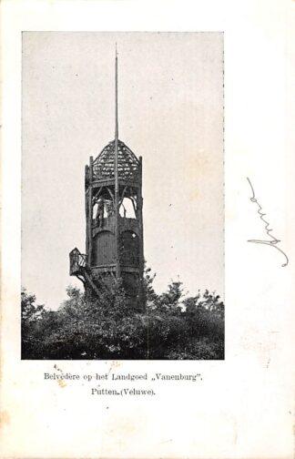 Ansichtkaart Putten Belvedère op het Landgoed Vanenburg 1903 Veluwe HC22812