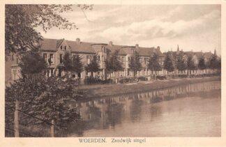 Ansichtkaart Woerden Zandwijk singel 1929 HC22825