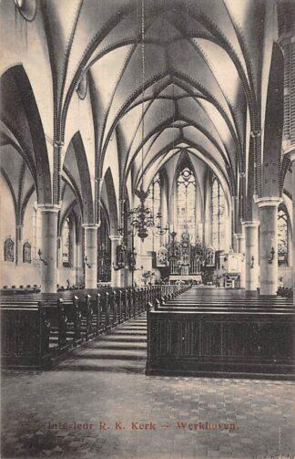 Ansichtkaart Werkhoven Interieur R.K. Kerk Bunnik HC22830