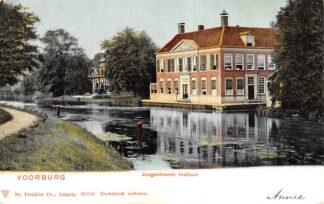 Ansichtkaart Voorburg Jongenheeren Instituut 1900 's-Gravenhage HC22834