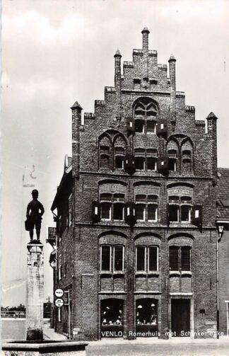 Ansichtkaart Venlo Romerhuis met Schinkemenke 1964 HC22843