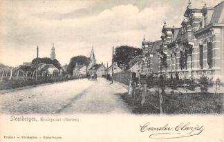 Ansichtkaart Steenbergen Kruispoort (buiten) 1903 HC22850
