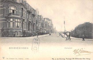 Ansichtkaart Scheveningen Haringkade 1902 's-Gravenhage HC22857