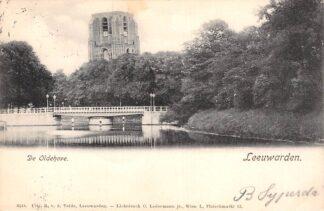 Ansichtkaart Leeuwarden De Oldehove 1903 HC22861