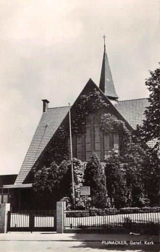 Ansichtkaart Pijnacker Gereformeerde Kerk1966 HC22864