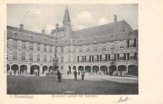 Ansichtkaart 's-Gravenhage Binnenhof-Cabinet der Koningin 1905 HC22886