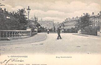 Ansichtkaart 's-Gravenhage Brug Sweelinckplein 1903 HC22895