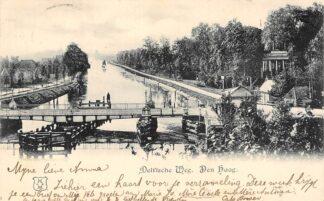 Ansichtkaart 's-Gravenhage Delftsche Weg 1899 HC22902