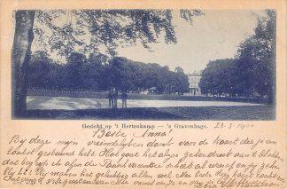 Ansichtkaart 's-Gravenhage Gezicht op 't Hertenkamp 1900 HC22909