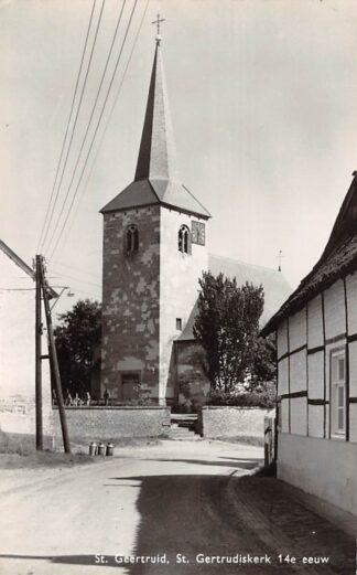Ansichtkaart Sint Geertruid St. Geertrudis kerk 14e eeuw 1963 HC22926