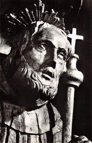 Ansichtkaart Houthem Sint Gerlach Beeld H. Gerlachus uit Parochiekerk 1956 HC22928