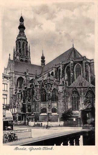 Ansichtkaart Breda Groote Kerk HC22931