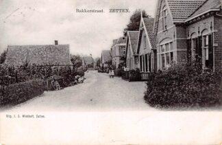 Ansichtkaart Zetten Bakkerstraat Betuwe HC22942