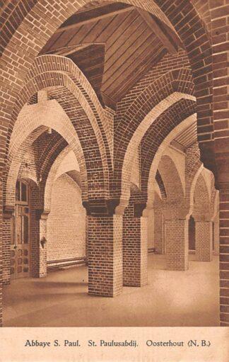 Ansichtkaart Oosterhout (NB) Klooster Abbaye St. Paul St. Paulusabdij HC22945