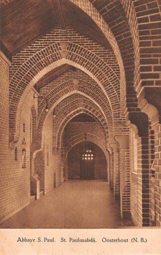 Ansichtkaart Oosterhout (NB) Klooster Abbaye St. Paul St. Paulusabdij HC22946