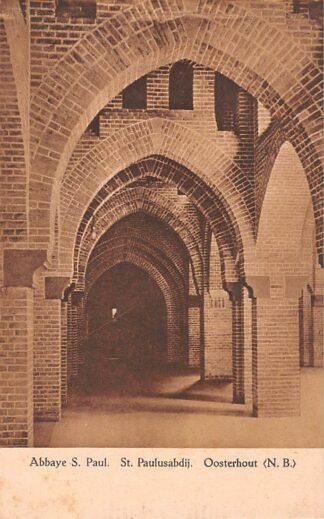 Ansichtkaart Oosterhout (NB) Klooster Abbaye St. Paul St. Paulusabdij HC22947