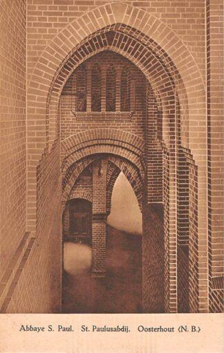 Ansichtkaart Oosterhout (NB) Klooster Abbaye St. Paul St. Paulusabdij HC22948