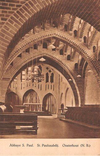 Ansichtkaart Oosterhout (NB) Klooster Abbaye St. Paul St. Paulusabdij HC22950