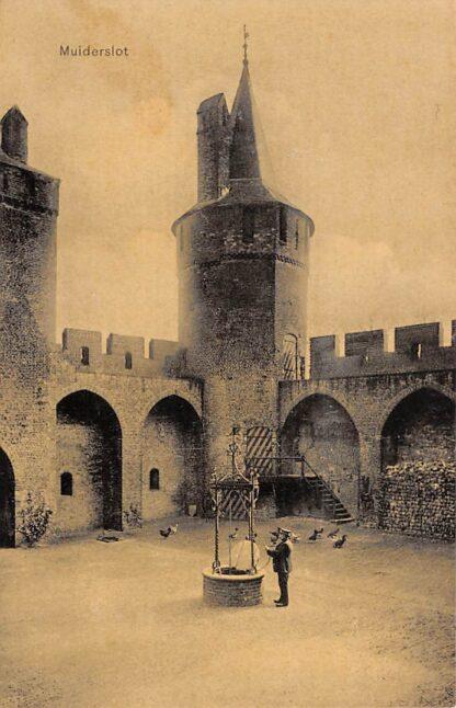Ansichtkaart Muiden Muiderslot 1906 Kasteel HC22954