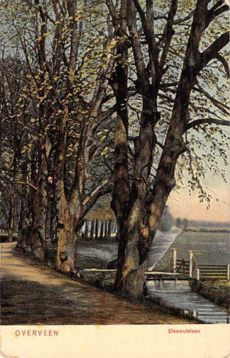 Ansichtkaart Overveen Elswoutslaan 1909 Bloemendaal Haarlem HC22971