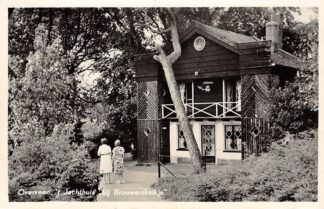 Ansichtkaart Overveen 't Jachthuis bij Brouwerskolkje Bloemendaal Haarlem HC22973