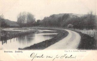 Ansichtkaart Overveen Zanderij 1900 Bloemendaal Haarlem HC22974