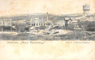 Ansichtkaart Overveen Haarl. Waterleiding met Watertoren 1900 Bloemendaal Haarlem HC22975