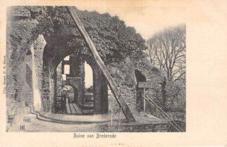 Ansichtkaart Santpoort Ruïne van Brederode Bloemendaal Haarlem HC22984