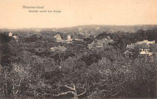 Ansichtkaart Bloemendaal Gezicht vanaf het Kopje Haarlem HC23002