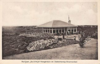 Ansichtkaart Bloemendaal Paviljoen De Uitkijk Hoogenduin en Daalscheweg Haarlem HC23008
