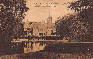 Ansichtkaart Santpoort - Bloemendaal Huize Duin- en Kruidberg Haarlem HC23013