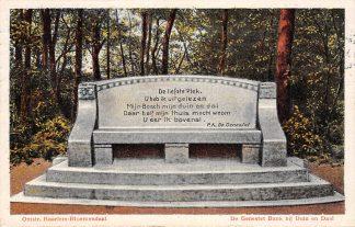 Ansichtkaart Bloemendaal De Genestetbank bij Duin en Daal 1913 Haarlem HC23023