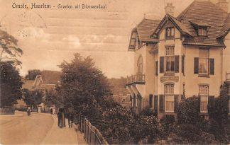 Ansichtkaart Bloemendaal Groeten uit 1912 Haarlem HC23024